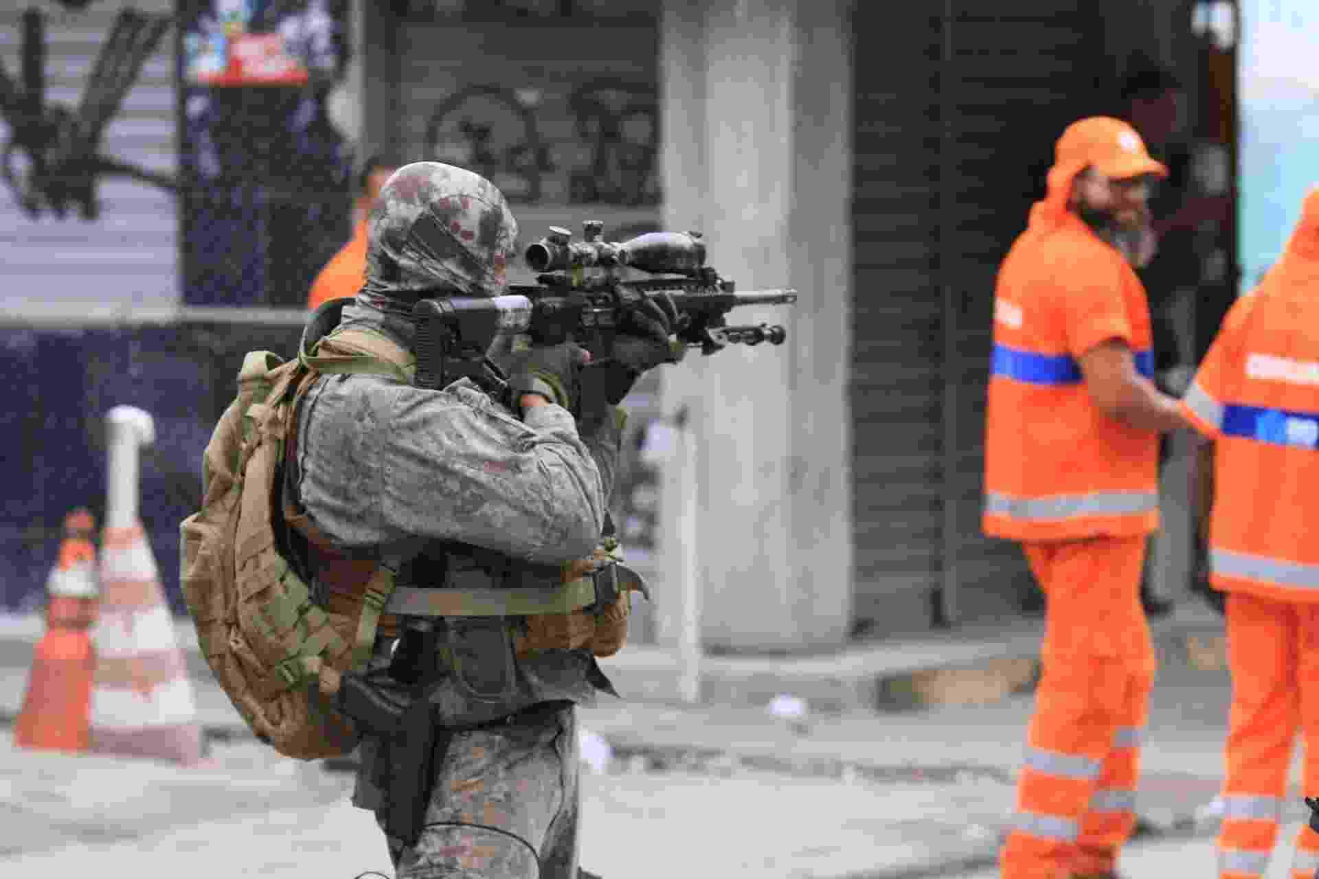 Operação no Complexo da Maré deixa dois mortos no Rio de Janeiro nesta terça-feira (6). - José Lucena/Futura Press/Estadão Conteúdo