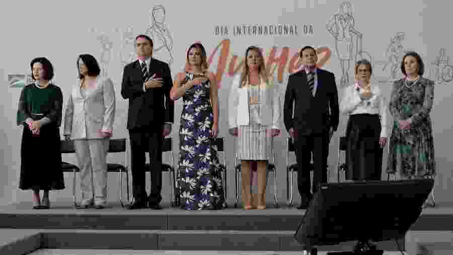 Cerimônia Alusiva ao Dia Internacional da Mulher no Palácio do Planalto - Carolina Antunes/PR