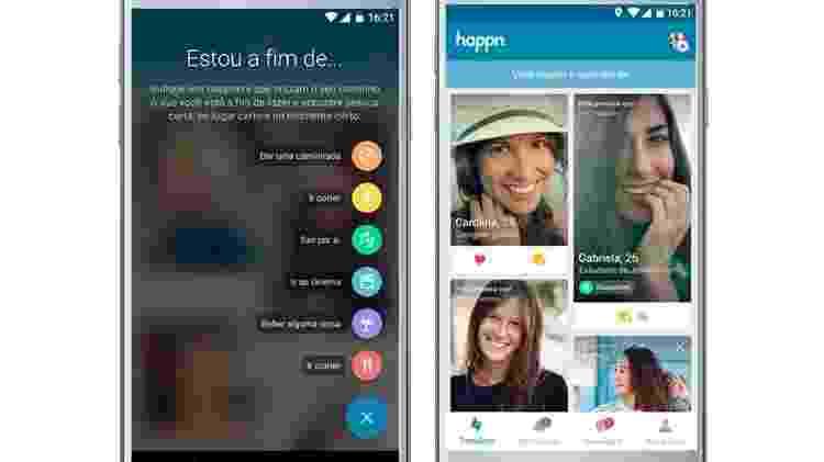 O aplicativo funciona com base na localização dos usuários - Divulgação