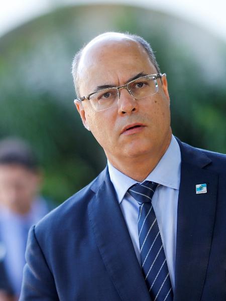 Governador do Rio de Janeiro, Wilson Witzel, em Brasília -