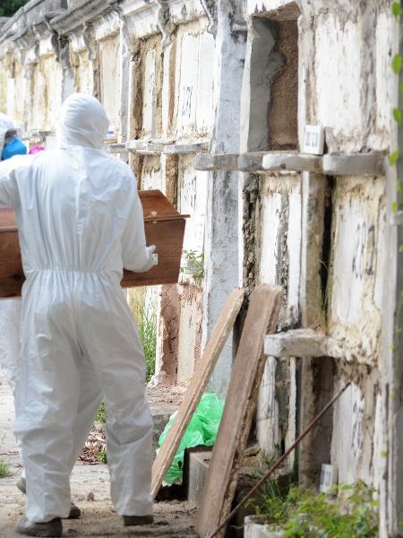 Brasil ultrapassou hoje a marca de 95 mil mortes causadas pela covid-19 - JORGE HELY/ESTADÃO CONTEÚDO