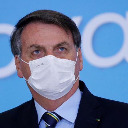 """Bolsonaro classificou hoje como """"complexa"""" a relação entre o Executivo e o Legislativo - Reprodução"""