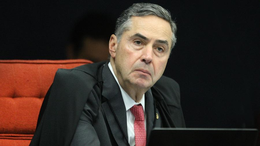 O presidente do TSE, ministro Luís Roberto Barroso, durante sessão da 1ª turma do STF, em 11/02/2020 - Nelson Jr./SCO/STF