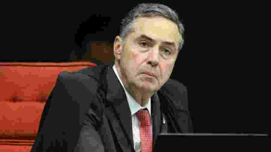 O presidente do TSE, ministro Luís Roberto Barroso, recebeu queixas sobre decisão para candidatos negros nas próximas eleições - Nelson Jr./SCO/STF