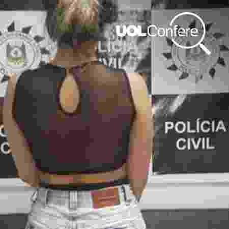 Foto que foi distribuída com o boato nem é da polícia no Maranhão - Divulgação/Polícia Civil
