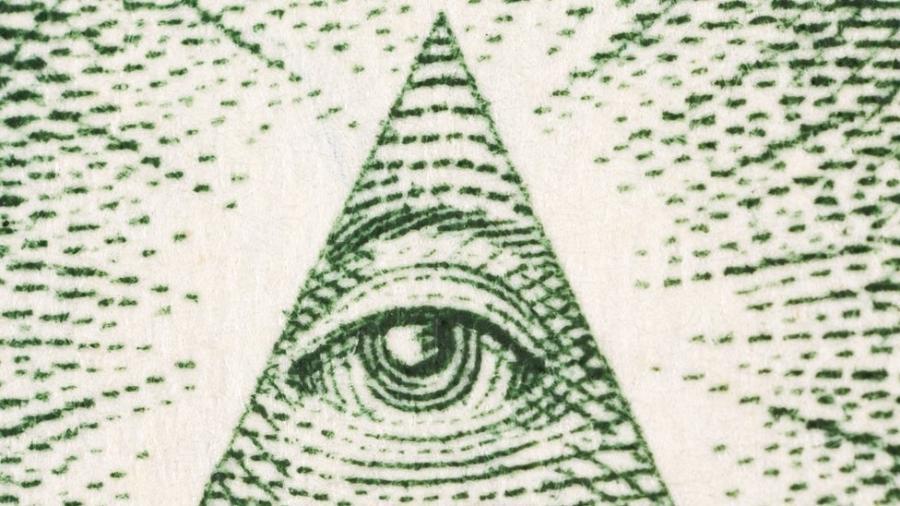 O Olho da Providência é uma espécie de ímã para os teóricos da conspiração - Getty Images via BBC