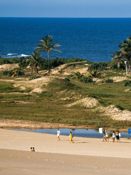 A cidade de Itaúnas, no Espírito Santo - Divulgação/Governo do ES