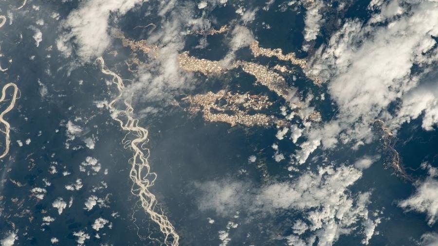 Imagens foram registradas da Estação Espacial Internacional - Nasa