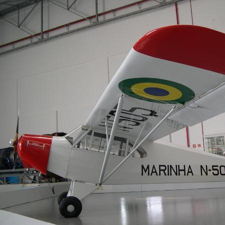 Motor de aviões mais antigos, como o CAP-4, o Paulistinha, era acionado manualmente - Divulgação