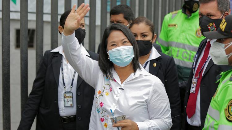 Keiko Fujimori - Luka Gonzales/AFP - Luka Gonzales/AFP