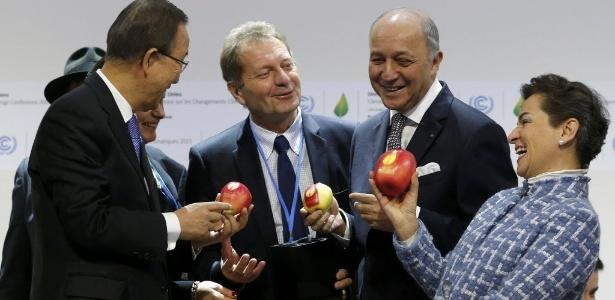 COP-21 tem tom de otimismo, mas conformismo domina; veja pontos em disputa - Stephane Mahe/Reuters