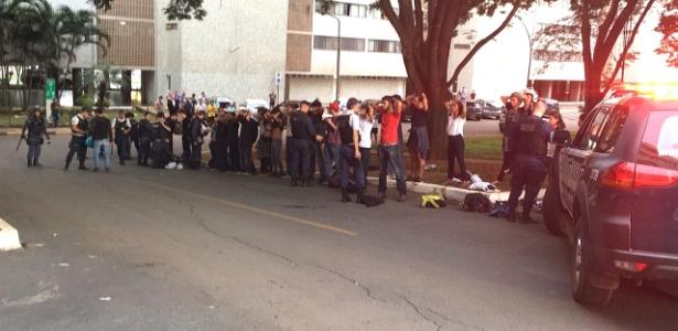 Grupo tenta invadir apartamentos de parlamentares em Brasília - Divulgação/Polícia Civil