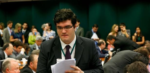 """Ex-assessor da """"tropa de choque"""" do ex-presidente da Câmara dos Deputados Eduardo Cunha (PMDB), Lucas Rivas se encontrou com o ex-parlamentar na prisão no Paraná"""
