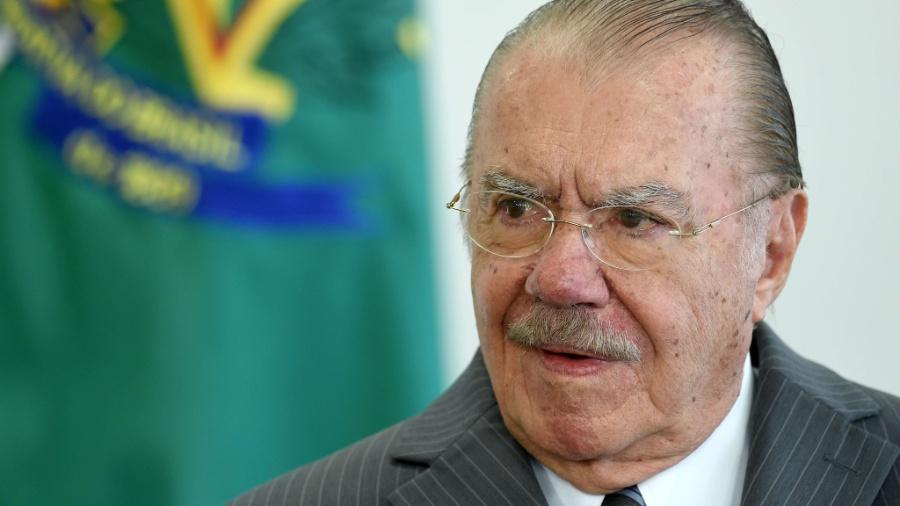 José Sarney (PMDB-AP) foi quatro vezes presidente do Senado - Evaristo Sá/AFP