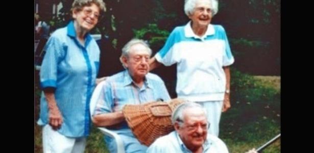 Todos os irmãos Kahn passaram dos 100 anos com vida saudável