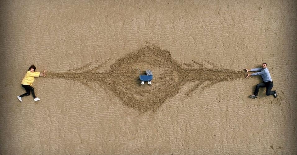 O concurso Dronestagram reúne as fotos mais bacanas tiradas com o auxílio de drones. Anualmente, uma banca julgadora define os melhores cliques submetidos ao site. Acima, o terceiro lugar na categoria criatividade