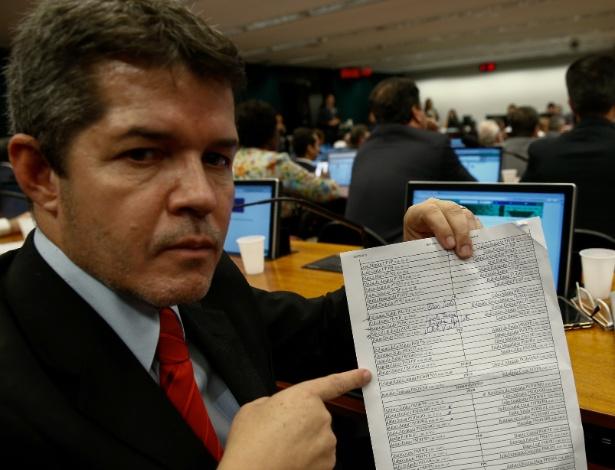 O deputado Delegado Waldir (PR-GO), que foi substituído da CCJ pelo partido