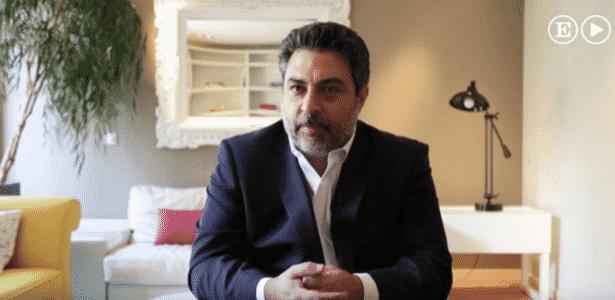 Rodrigo Tacla Duran, ex-advogado da Odebrecht, durante entrevista para o jornal espanhol El País - Reprodução/El País - Reprodução/El País