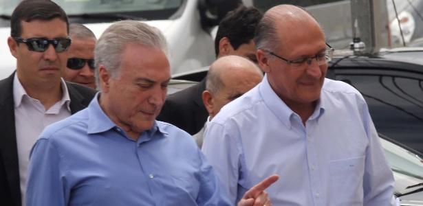 O presidente Michel Temer (PMDB) e o governador Geraldo Alckmin (PSDB) participam da cerimônia de entrega de unidades do Minha Casa, Minha Vida, em Americana (SP)
