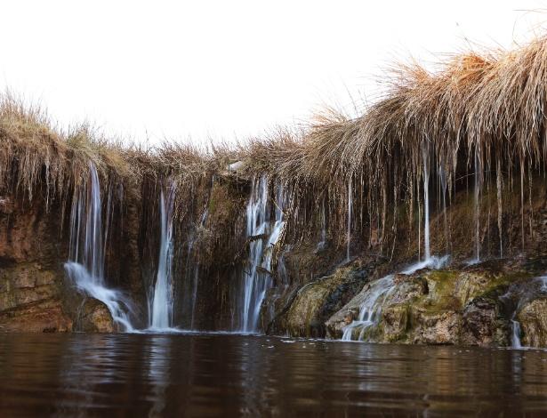 O rio Amargosa é um ecossistema delicado