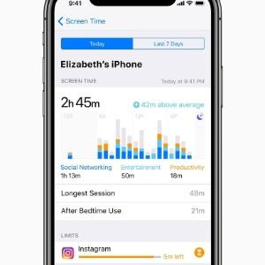 Apple mostrará tempo gasto pelo usuário no celular