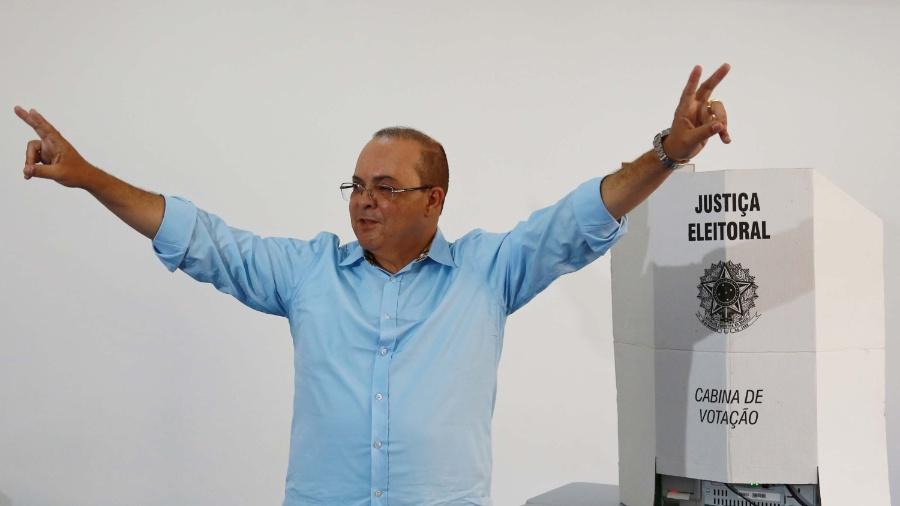 O governador do Distrito Federal, Ibaneis Rocha - Fátima Meira/Futura Press/Folhapress