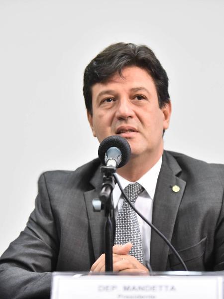O ministro da Saúde, Luiz Mandetta - Democratas - 6.abr.2017/Divulgação