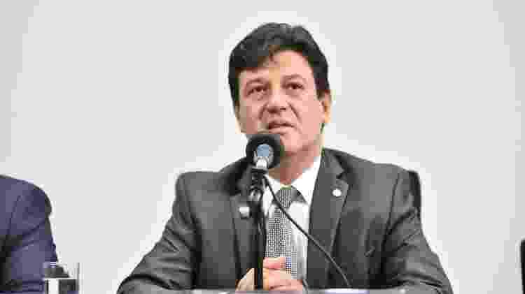 O novo ministro da Saúde, Luiz Mandetta - Democratas - 6.abr.2017/Divulgação