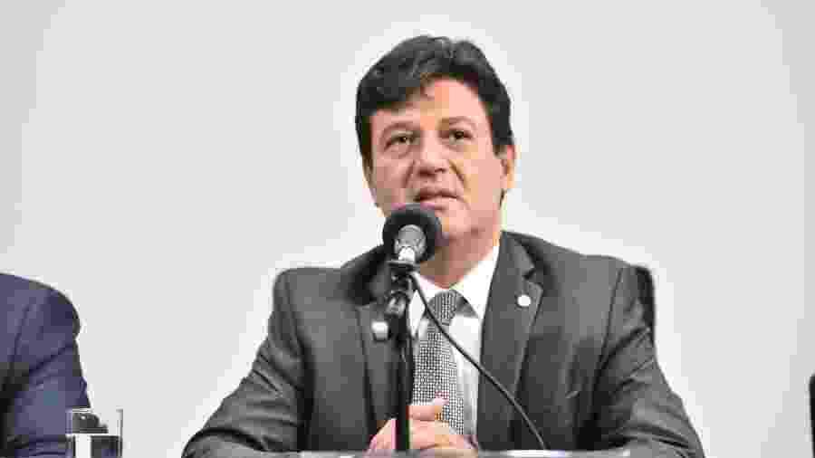 O ministro da Saúde, Luiz Henrique Mandetta - Democratas - 6.abr.2017/Divulgação