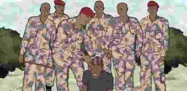Não está claro por que forças de segurança começaram a raspar a cabeça de homens com black power, mas o penteado costuma ser associado, em círculos religiosos conservadores, com um comportamento fora das normas. - BBC