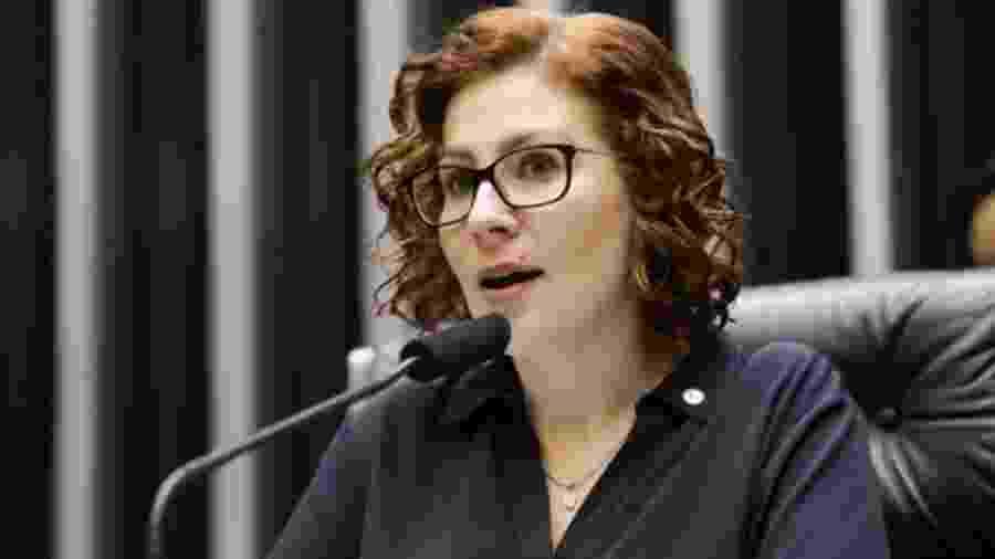 A deputada Carla Zambelli é uma dos cinco parlamentares afetados pela decisão - Agência Câmara