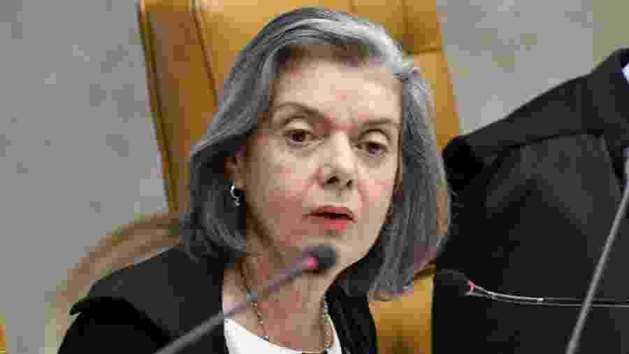 7.nov.2019 - A ministra Cármen Lúcia, do Supremo Tribunal Federal - Carlos Alves Moura/SCO/STF