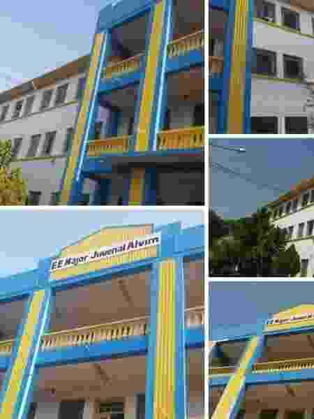 Escola estadual em Atibaia - Arquivo Pessoal