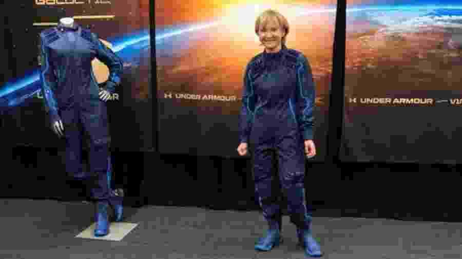 A professora de 61 anos Ketty Maisonrouge comprou a passagem ao espaço há 15 anos, em 2005. Neste ano, finalmente, deve realizar esse sonho - BBC