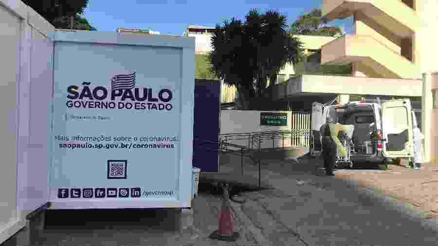 Hospitais da rede estadual tem 1,4 mil funcionários afastados do trabalho por causa do coronavírus - Felipe Pereira