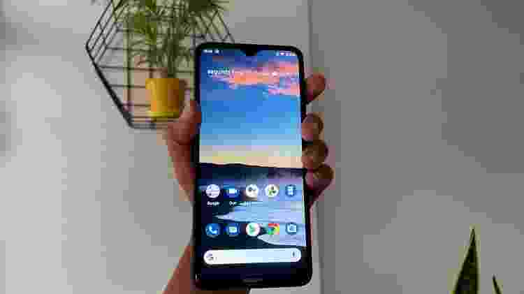 Nokia 5.3: modelo tem tela de 6,5 polegadas - Bruna Souza Cruz/Tilt - Bruna Souza Cruz/Tilt