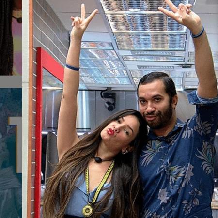 Juliette e Gilberto atraem atenção de marcas concorrentes para protagonizarem campanhas e parcerias - Reprodução/Instagram