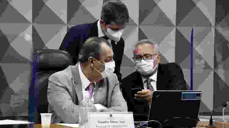 Integrantes da CPI da Covid investigam ligações entre suspeitas de fraudes em mortes por covid e gabinete paralelo do governo Bolsonaro - EDILSON RODRIGUES/AGÊNCIA SENADO - EDILSON RODRIGUES/AGÊNCIA SENADO