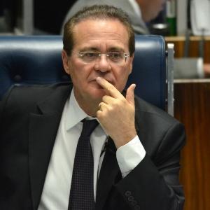 Renan Calheiros é presidente do Senado