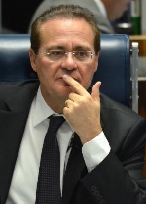 Renan Calheiros, presidente do Senado, pediu ao STF que discuta o parlamentarismo