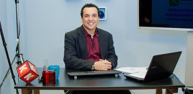 Daniel Delgado, fundador e dono da Doutores do Excel