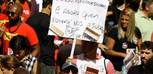 Professores de SP entrarão em greve dia 28 de mar?o - Fabio Vieira/Estadão Conteúdo