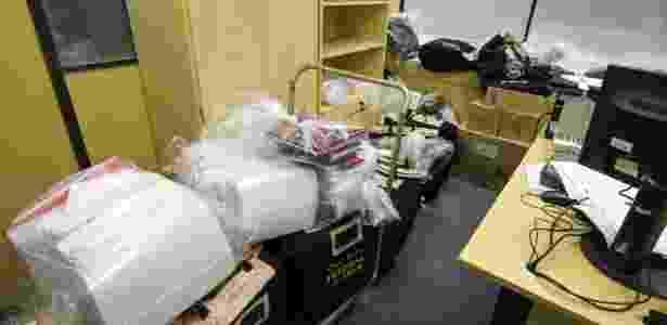 """Material apreendido pela Polícia Federal na """"Operação Carne Fraca"""" - Rodrigo Félix - 17.mar.2017/Futura Press/Estadão Conteúdo - Rodrigo Félix - 17.mar.2017/Futura Press/Estadão Conteúdo"""