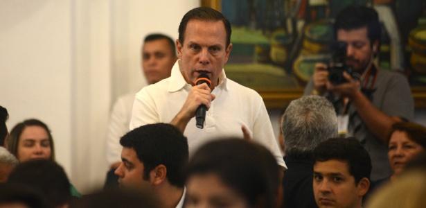 6.out.2017 - O prefeito de São Paulo, João Doria (PSDB)