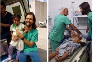 O 'olhar vazio' da cólera que chocou um médico brasileiro no Iêmen (Foto: Arquivo pessoal)