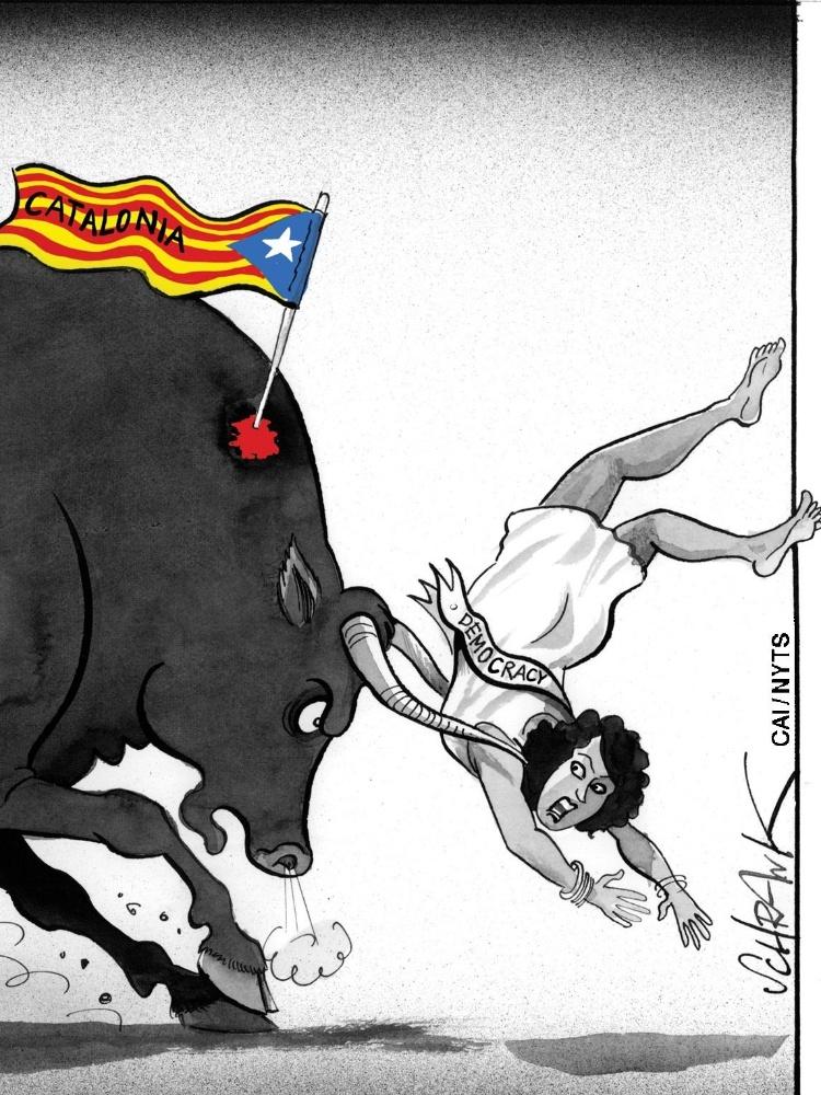 Outubro: Divisões Se Ampliam Na Espanha