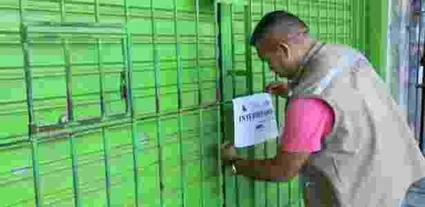 Operação de fiscalização interdita farmácia no Pará - João Gomes/COMUS/Agência Belém - João Gomes/COMUS/Agência Belém