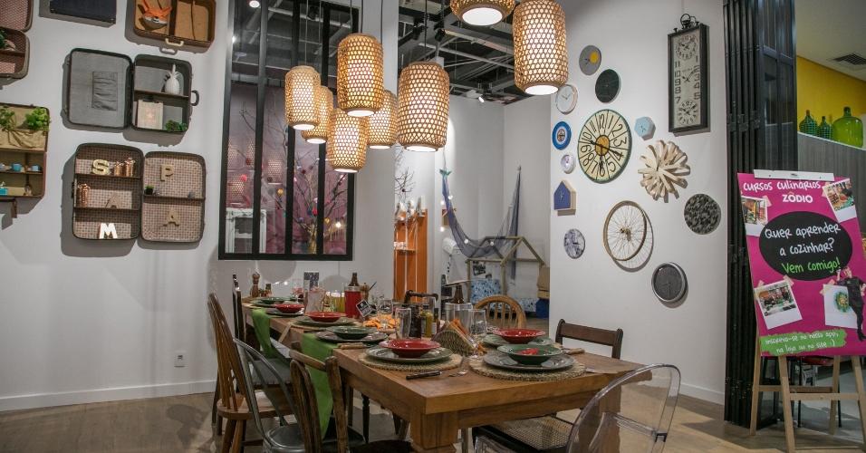 Sala de jantar da Zôdio