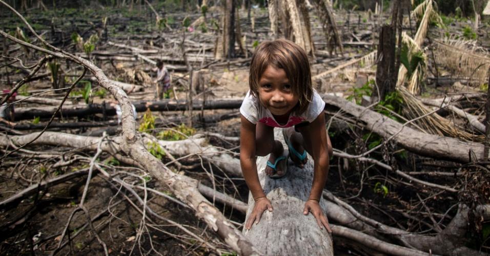 Karo Iwûn na aldeia Poxo Muybu, na Terra Indígena Saweré Muybu, no Pará