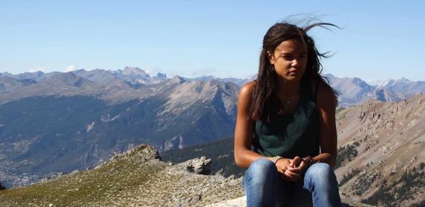 Cedella Roman, estudante francesa que ficou 15 dias presa nos EUA - AFP